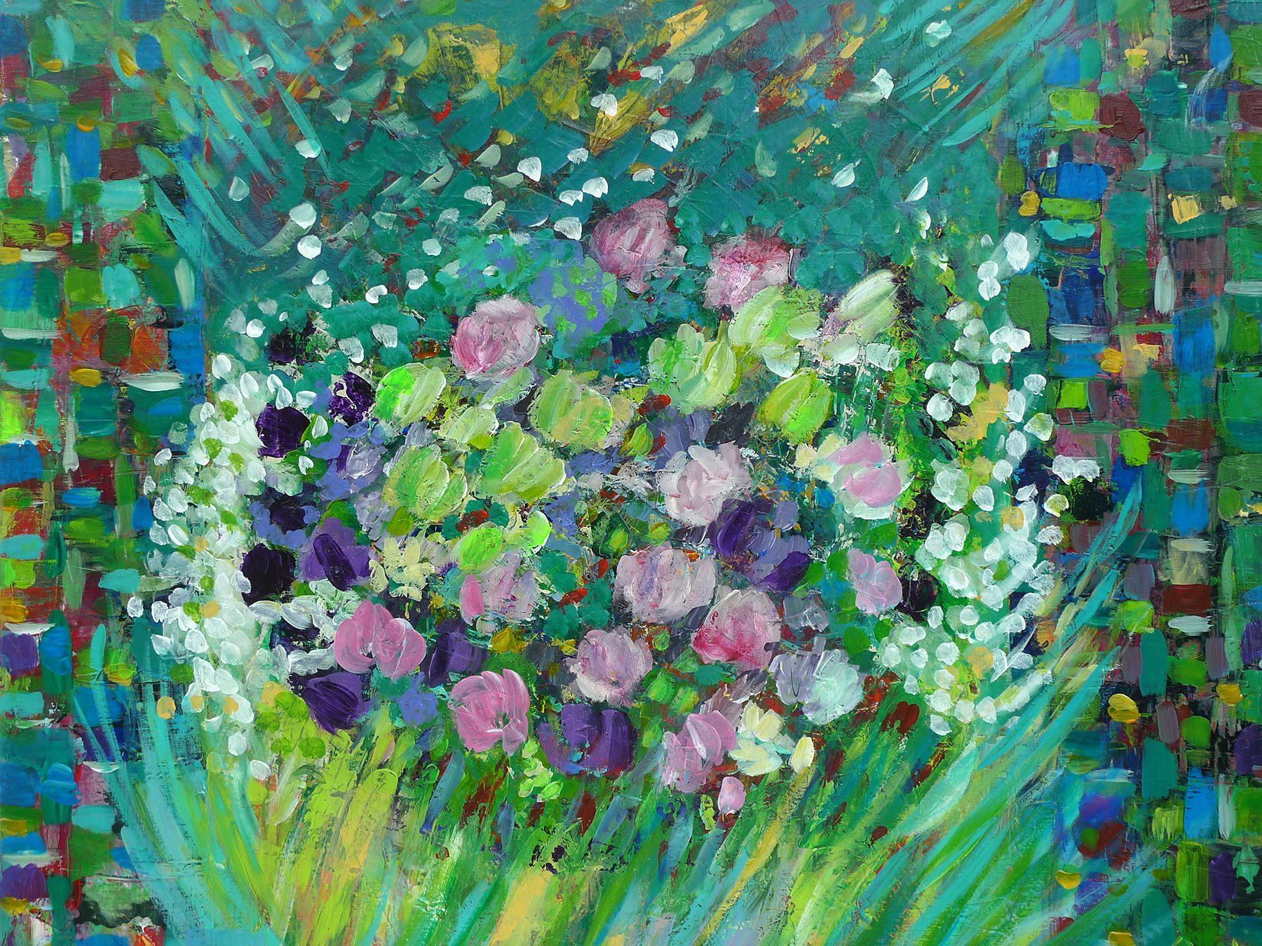 Bouquet cadré