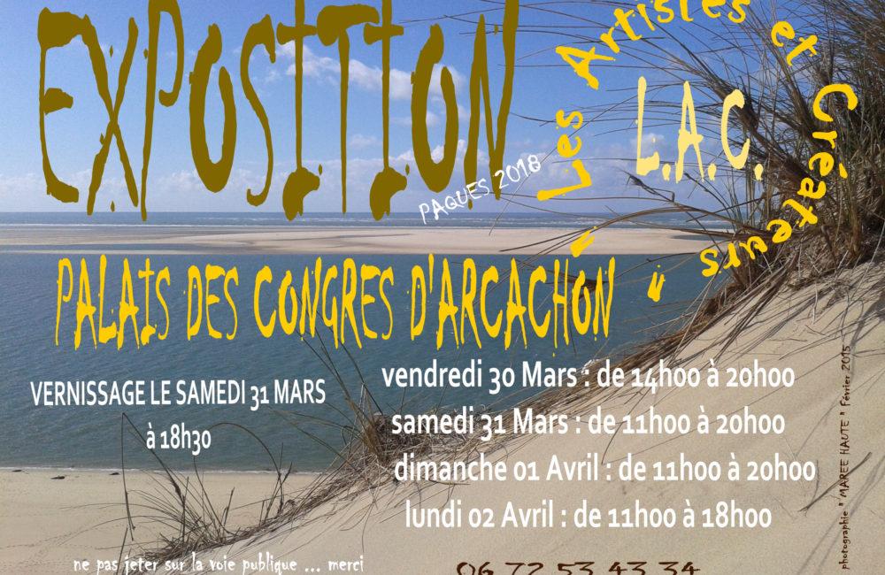 Exposition LAC Artistes et créateurs