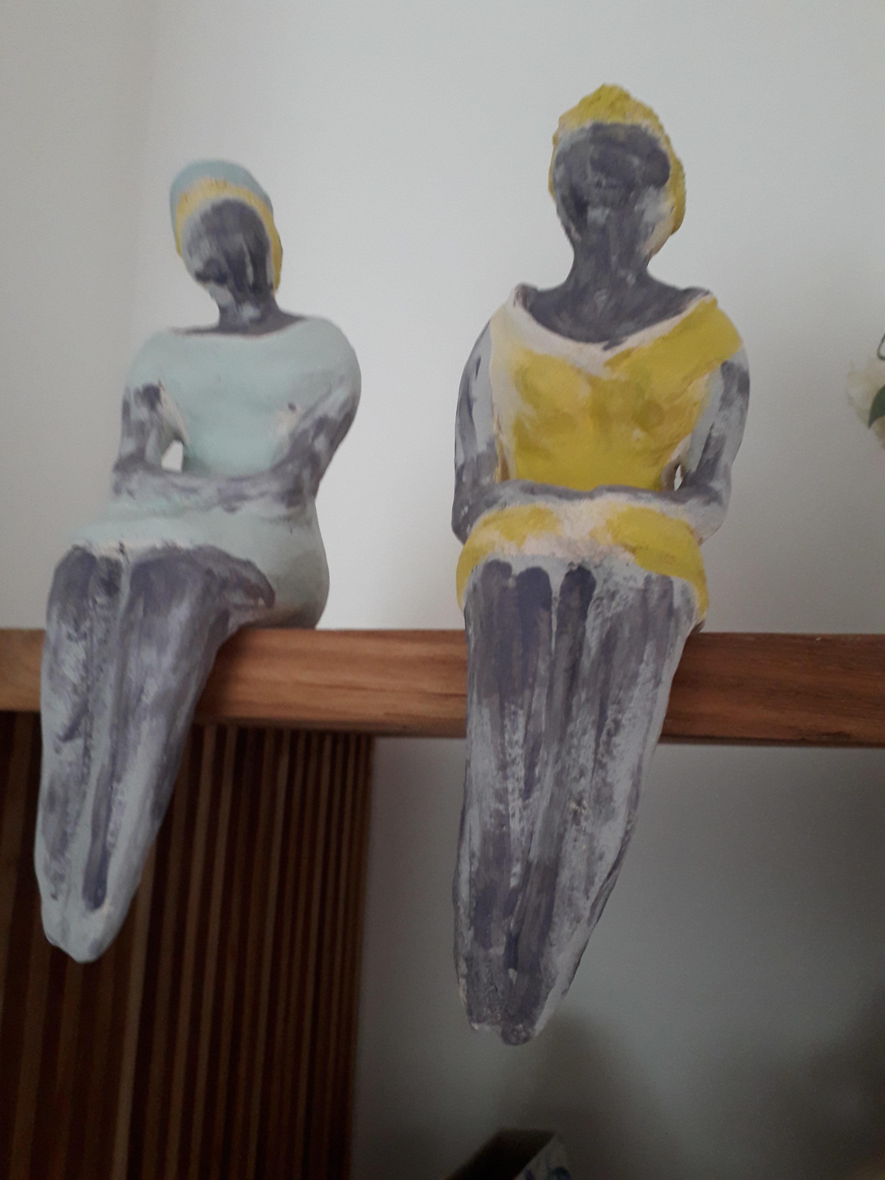 LG Les copines sculpture