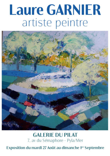 Affiche expo Laure Garnier Final bis