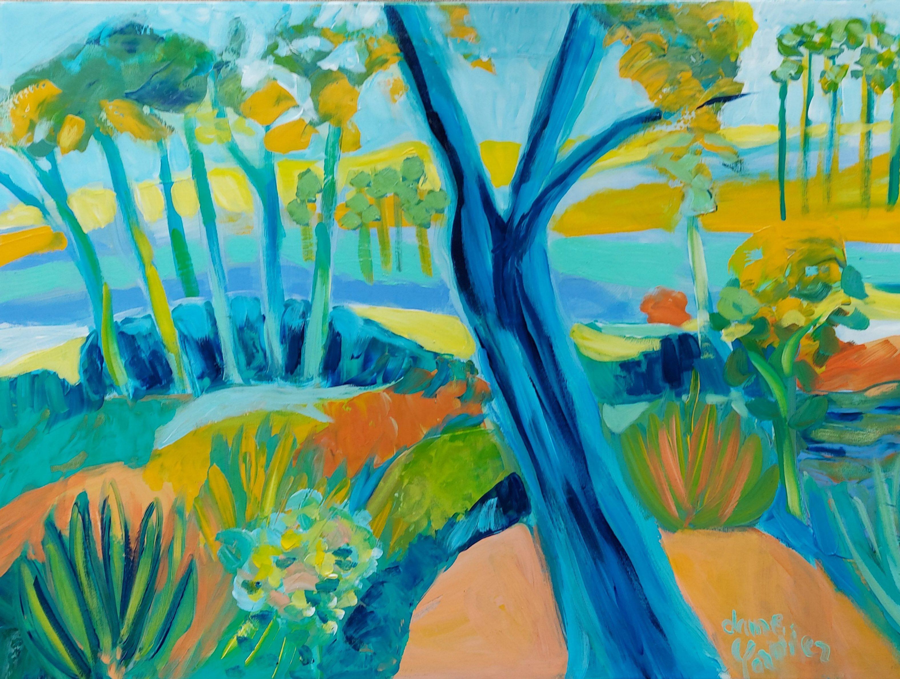 Le chêne bleu